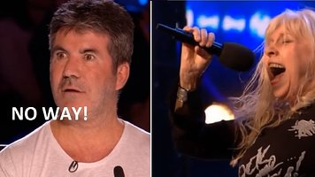 OMG 68 Year Old Sings AC/DC Highway To Hell! SIMON is SHOCKED!! Britain´s Got Talent 2018