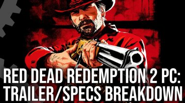 Red Dead Redemption 2 PC Trailer/ Recommended Specs Analysis!