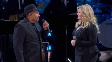 "Trisha Yearwood And Aaron Neville's Duet Of ""Don't Know Much"" Is Beauty For Your Ears"