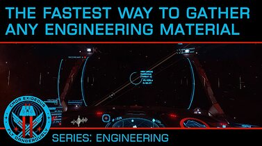 The FASTEST Ways to Gather Minerals, Manufactured and Raw Engineering Materials in Elite Dangerous