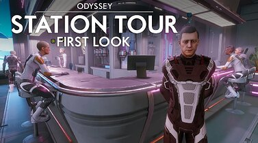 Elite Dangerous Odyssey - Station Tour - First Look